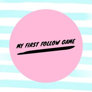This is my first follow game!